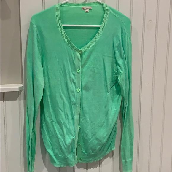 GAP Sweaters - Gap green garment dyed cardigan